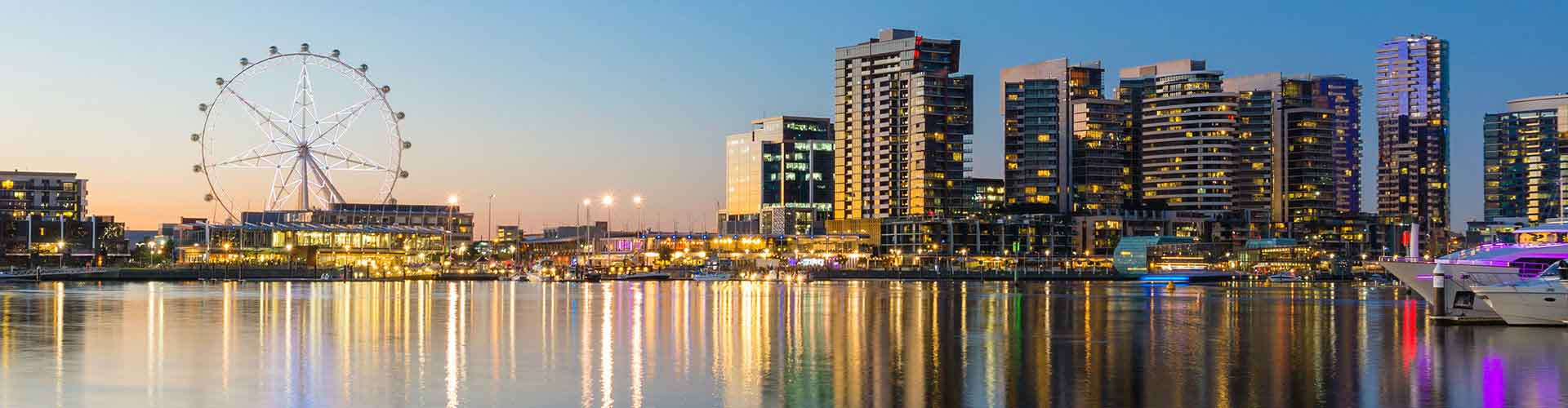 Melbourne – Albergues no Docklands bairro. Maps for Melbourne, Photos and Reviews for each Hotel in Melbourne.