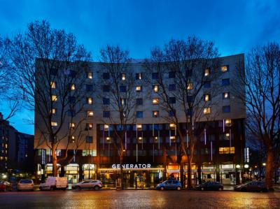 Hostels e Albergues - Generator Paris